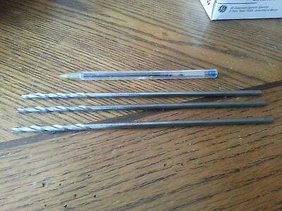 "Aircraft Extension step drill bits, Size #13, ( 0.185 ), 8"" long,  Qty 3"
