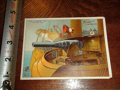 BS850 Vintage Victorian Trade Card Advertising McLaughlin Coffee