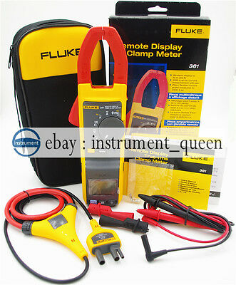 FLUKE 381 Remote Display True RMS AC/DC Clamp Meter with iFlex !!NEW!! F381