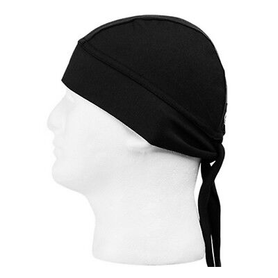 Schampa Stretch Z Wrap Breathable Headwrap Black