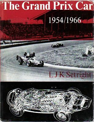 Grand Prix Car 1954 to 1966 by LJK Setright Racing book with 150+ illustrations