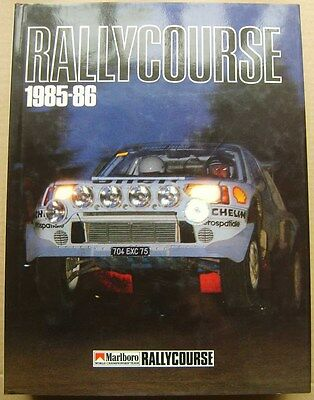 Rallycourse Annual 1985-86  4th Rallycourse Annual good condition with DW