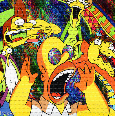 SIMPSONS TRIP -  BLOTTER ART perforated psychedelic