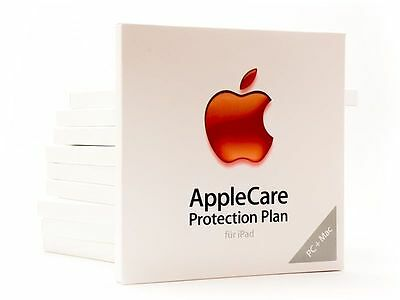 Code AppleCare Protection Plan Apple Care Garantie: iPad, iPad mini und iPad air