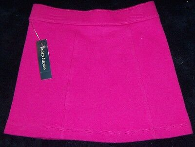 GIRLS NEW NWT dark pink SKIRT size 6 6X school wear gift idea SOLID COLOR NICE!!