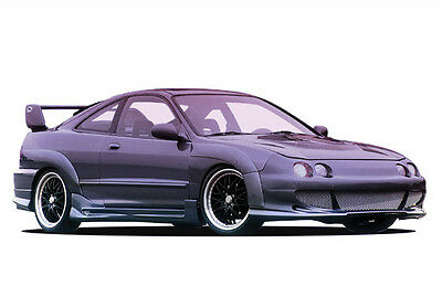 Wings West 1994-1997 Acura Integra 2Dr Bigmouth Kit W/ 7Pc Extreme Flares