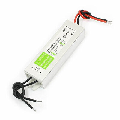 DC 24V 10W LED Driver Power Supply Converter IP67 Waterproof AC 90-250V