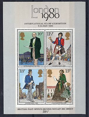 GB = 1979 Rowland Hill MS. SG MS1099. MNH.