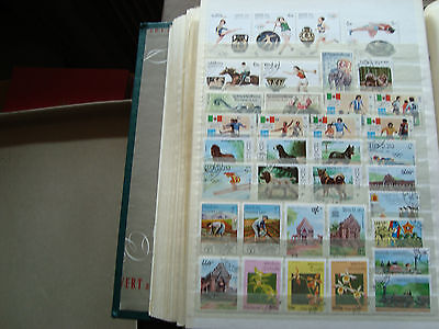 LAOS - 36 timbres obliteres stamp