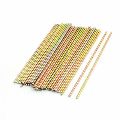 RC Airplane Stainless Steel Straight Shaft Round Rods 74mm x 1.4mm 50 Pcs
