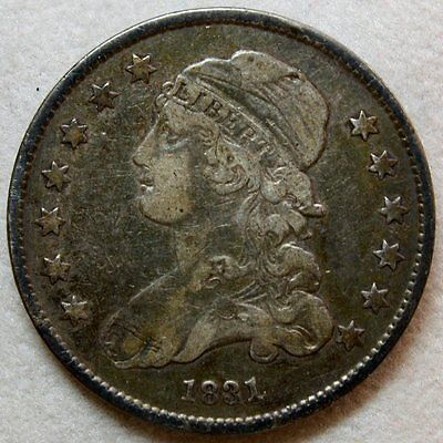 1831 Capped Bust Quarter * Gorgeous Originality