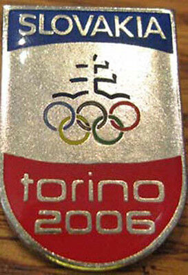 TORINO 2006 limited SLOVAKIA Olympic NOC red tip pin