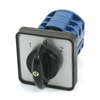 CA10 3-Position 3-Phase Universal Rotary Cam Changeover Switch