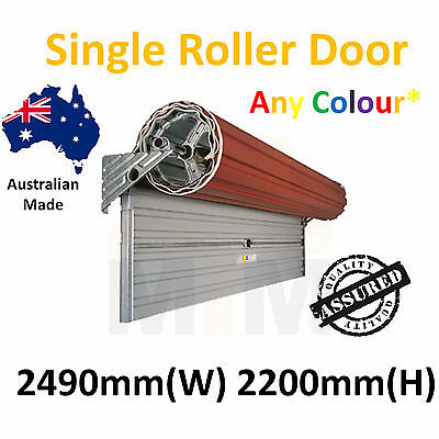 """ Brand New "" Single Roller Garage Door Any Colour"