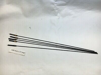 "Antique clock repair 13"" suspension spring rods set of 5"