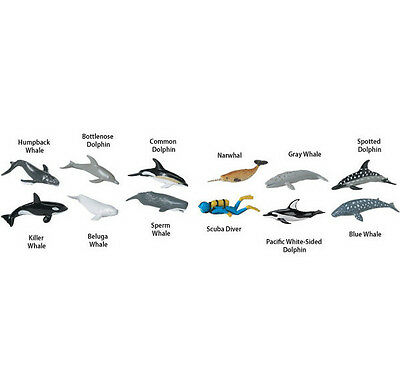 WHALES & DOLPHINS Toob # 694704 ~ FREE SHIP/USA w/$25+ Safari, Ltd.Products