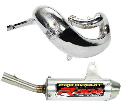 Pro Circuit Platinum R304 Pipe and Silencer Exhaust For Kawasaki KX 125 04-05