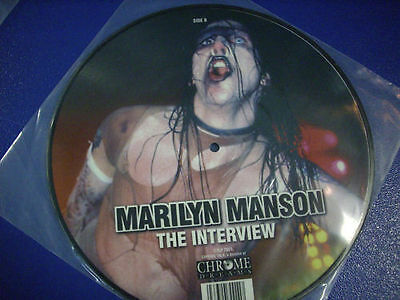 Marilyn Manson– The Interview,picture Disc 10""