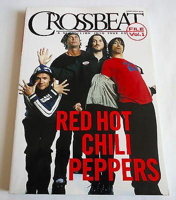 RED HOT CHILI PEPPERS Crossbeat File Vol.1 JAPAN BOOK 2004 Flea Chad Smith