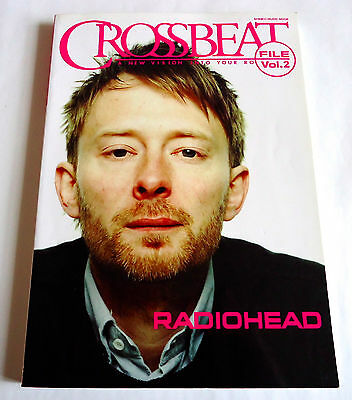 RADIOHEAD Crossbeat File Vol.2 JAPAN BOOK 2004 Thom Yorke