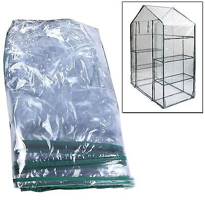 Replacement Spare Clear PVC Cover for Walk In Greenhouse Green Grow House Garden