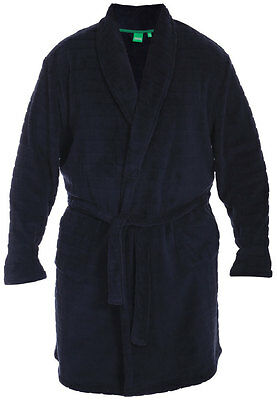 Mens Kings Club Big Size Fleece Dressing Gown Bath Robe 3xl 4xl 5xl