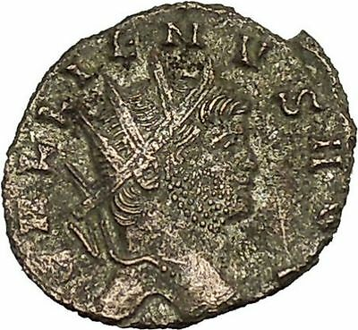 Gallienus Valerian I son Ancient  Roman Coin Security & stability Cult  i39927