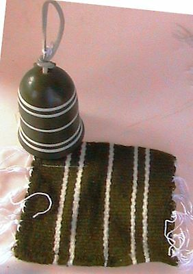 Zapotec Rug with matching HAND MADE Cheyenne Indian Pot Sherry Silverthunder NEW