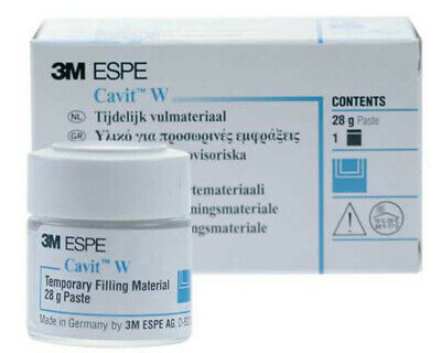 Cavit W Temporary Filling Material 28g Jar by 3M ESPE