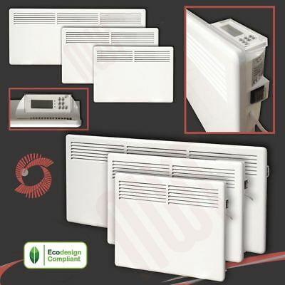 Nova Live S Electric White Panel Convector Heaters Radiators 1000w,1500w,2000w