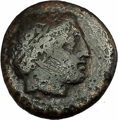 Philip II Alexander the Great Dad OLYMPIC GAMES Ancient Greek Coin Horse i39930