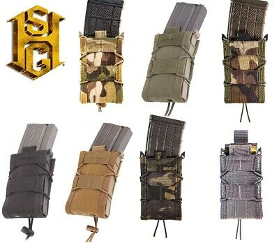 HSGI MOLLE or BELT Mount Taco Single Rifle Magazine Pouch-ALL COLORS