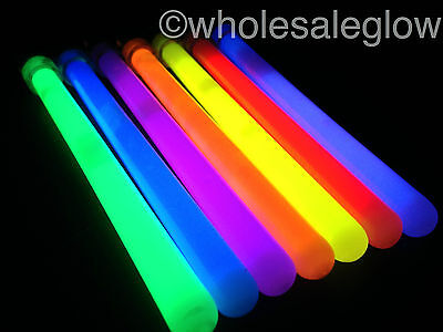 "100 x 6"" Pendent Style Glow Sticks Wholesale Glow Sticks Party Rave Festival"
