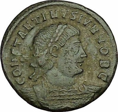 CONSTANTINE II Constantine the Great  son Ancient Roman Coin Legions  i40022