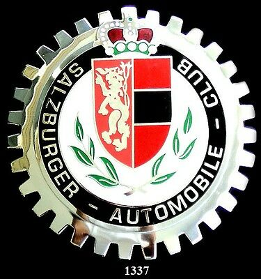 CAR GRILLE EMBLEM BADGES - SALZBURGER AUTO CLUB