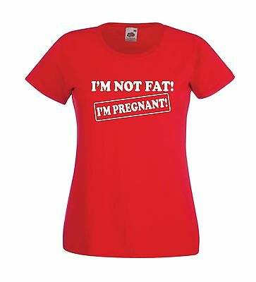 IM PREGNANT pregnancy maternity new born baby mothers mummys gift womens T SHIRT