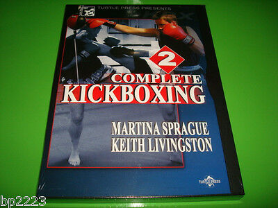 COMPLETE KICKBOXING Vol. 2 INSTRUCTIONAL DVD Martina Sprague, Keith Livingston