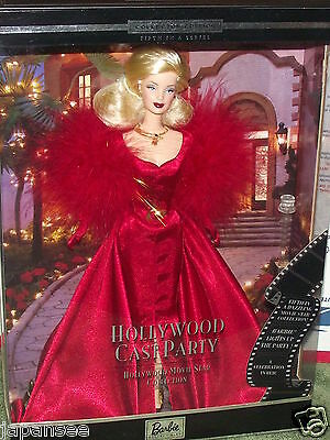 Collectors Edition Fifth In A Series Hollywood Cast Party Barbie New In Seal Box