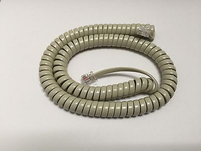 NEW 10-Pack 12' Handset Cord ash beige Nortel Norstar M-Series Phones M7310