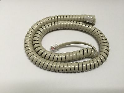 NEW 12' Ash Tan Handset Cord Nortel Norstar M-Series Phone M7310 M7208 M7324