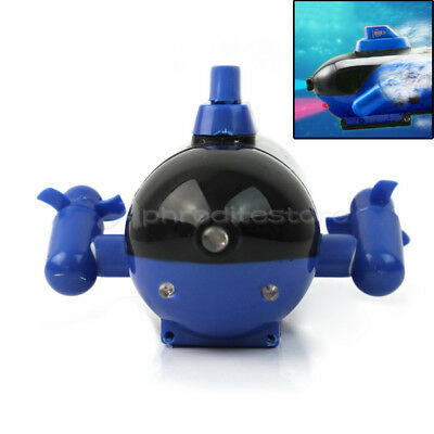 Newest Blue Radio RC Remote Control Sub Submarine Boat Explorer Toy For Kids Hot