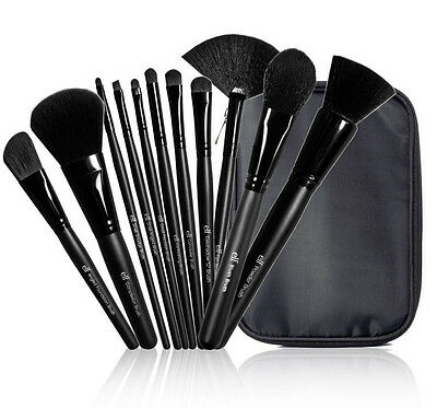E.L.F. Studio 11 Piece Brush Collection Set #85015 NIP ELF Kit Powder