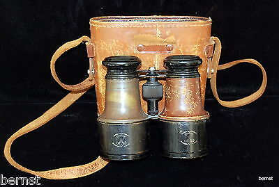 Vintage Boy Scout- Early Boy Scout Field Glasses & Case - Free Shipping
