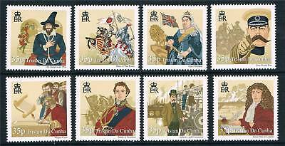 Tristan da Cunha 2011 History of British Is Part 3 MNH
