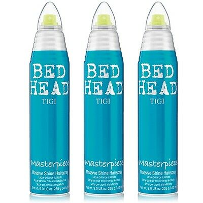 Tigi BED HEAD 3 x 340 ml Masterpiece Haarspray  massiver Glanz
