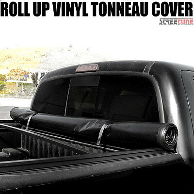 "Lock & Roll Up Soft Tonneau Cover Fits 05-15 16 Frontier King/Crew 6 Ft 72"" Bed"