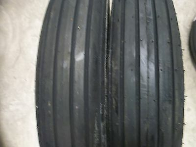 TWO 670-15, 670x15 Rib Implement Disc,Do-All,Wagon 6 ply Tube Type Tractor Tires