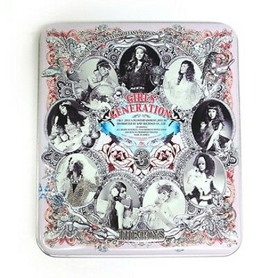 SNSD Girls' Generation 3rd Album [THE BOYS] CD in Tin+PhotoCard+Tracking K-POP