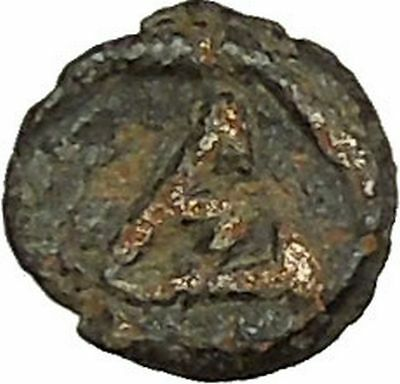 Justinian I 527AD Authentic Original Medieval Ancient Byzantine Coin i40197