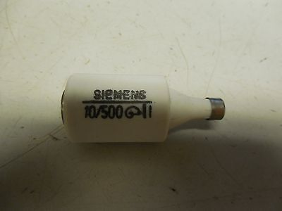 New Siemens Diazed Fuse 10/500 10A A Amp 500V Volt 10500